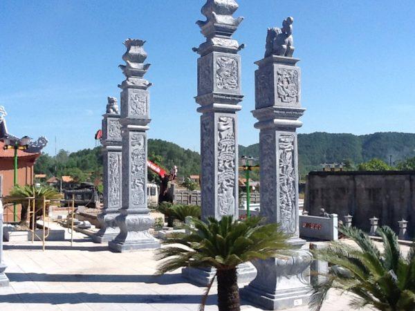 Cột đá, đá thanh hóa, nhà thờ đá