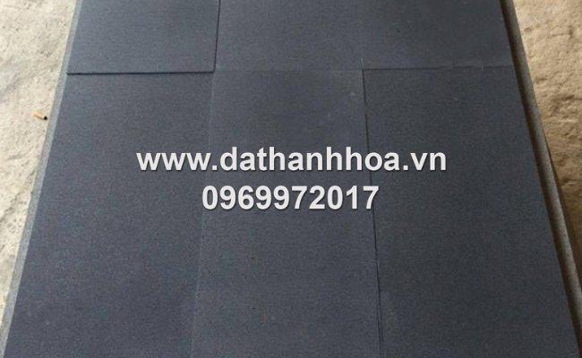 đá bazan đen kích thước 30x60 mài hone cao cấp