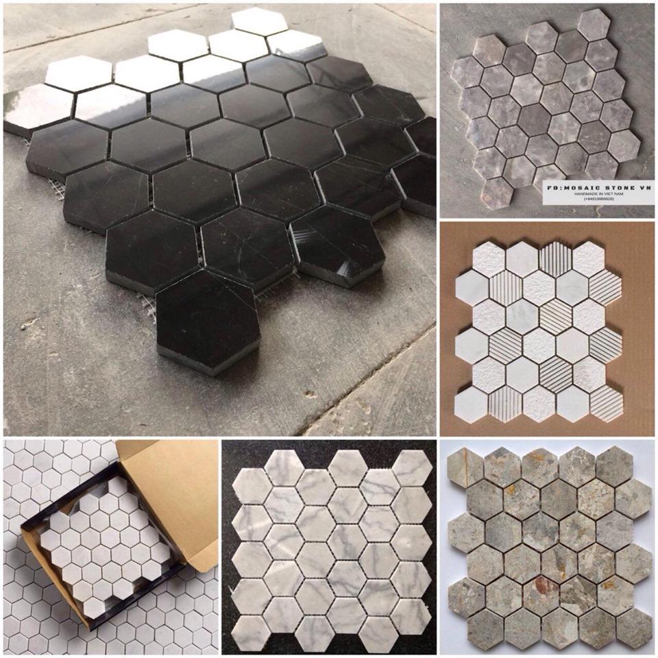 đá ốp tường mosaic cao cấp